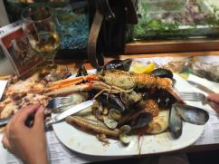 best sea food, barcelona