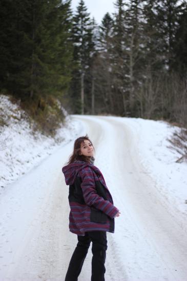 skiwear, snowwear, hiking, nature